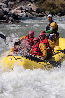 rafting canyon