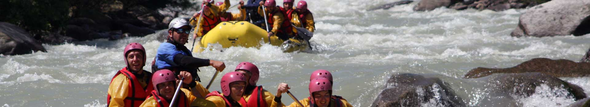 rafting fiume Noce
