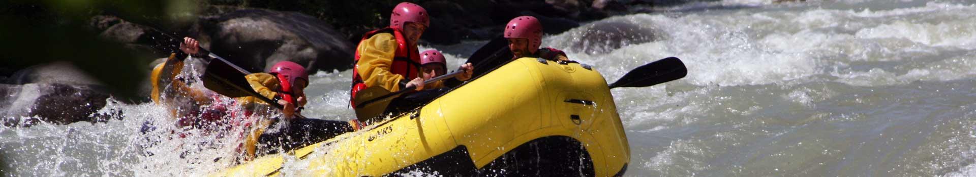 rafting trentino