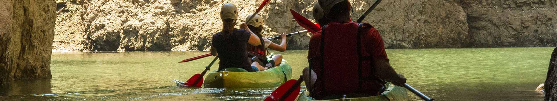 canoa Val di Non Lago