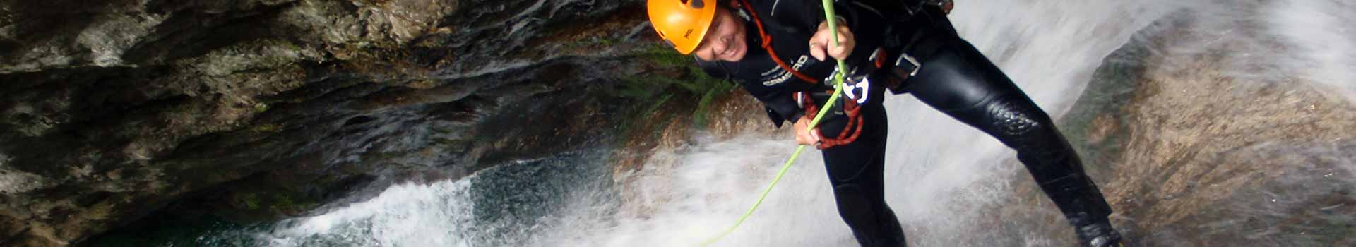 canyoning Trentino